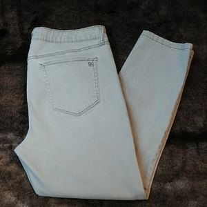 Jessica Simpson Rolled Cropped Skinny Jeans Sz 14